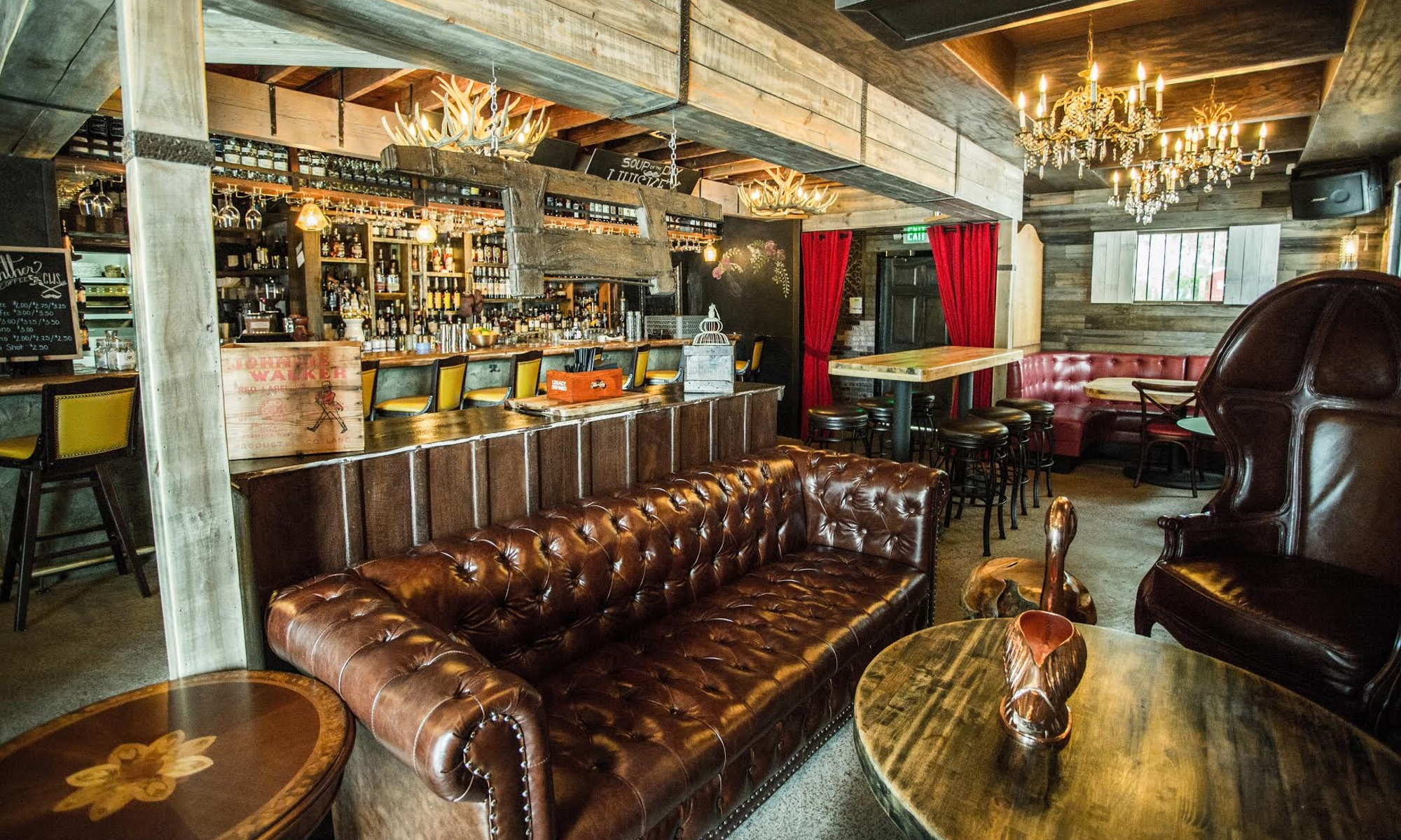 Picture of the Whiskey Den at C.W.S. Bar + Kitchen