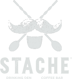Image of Stache Drinking Den + Coffee Bar Logo