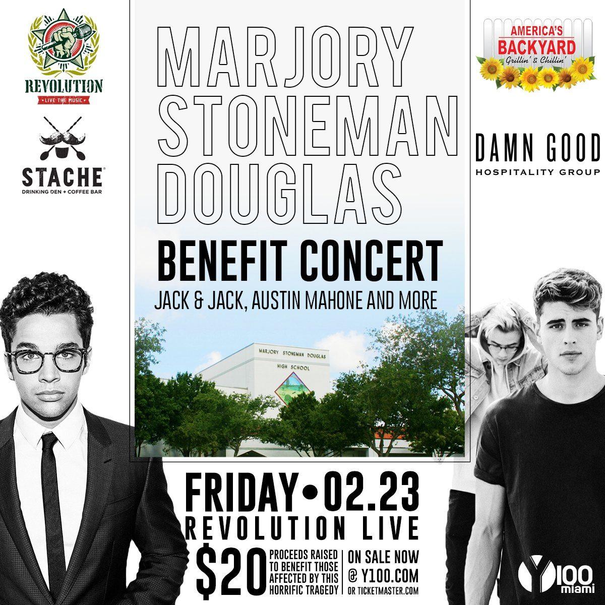 MSD Benefit Concert Poster