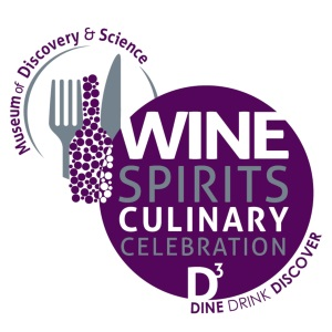 Museum of Discovery and Science's Wine, Spirits and Culinary Celebration Logo