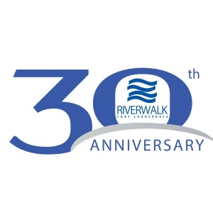 Riverwalk Fort Lauderdale's 30th Anniversary Logo