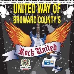 United Way of Broward County's Rock United Logo