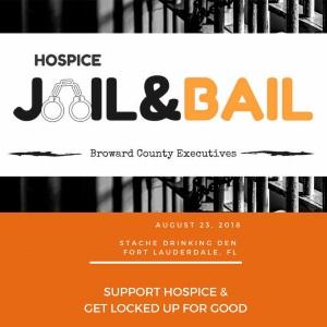 Trustbridge Hospice's Jail & Bail Logo